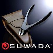 SUWADAつめ切りブラック&革ケースセット